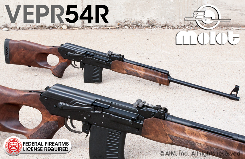 "Russian VEPR 7.62x54R 23"" Rifles"
