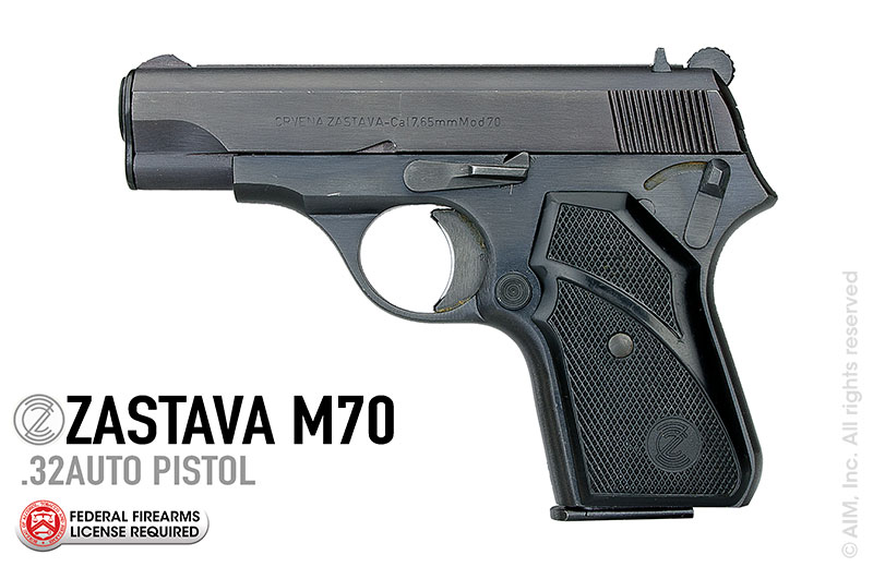Yugoslavian Zastava Model 70 .32 ACP Pistol Package