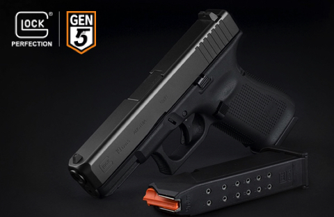 New GLOCK 19 GEN5 9mm Handgun