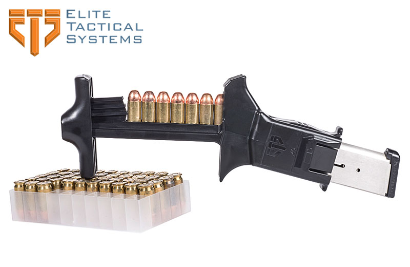 Elite Tactical Systems C.A.M. Universal .45 Auto Caliber Pistol Magazine Loader