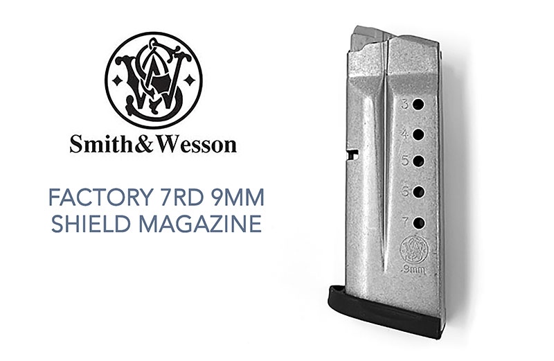 Smith & Wesson Shield 9mm 7rd Factory Magazine