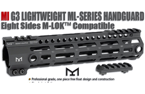 MI G3 Lightweight ML-Series Handguard, M-LOK™
