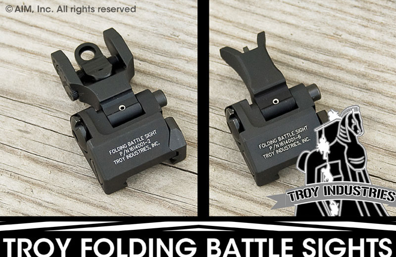 TROY FOLDING BATTLE SIGHT SALE!