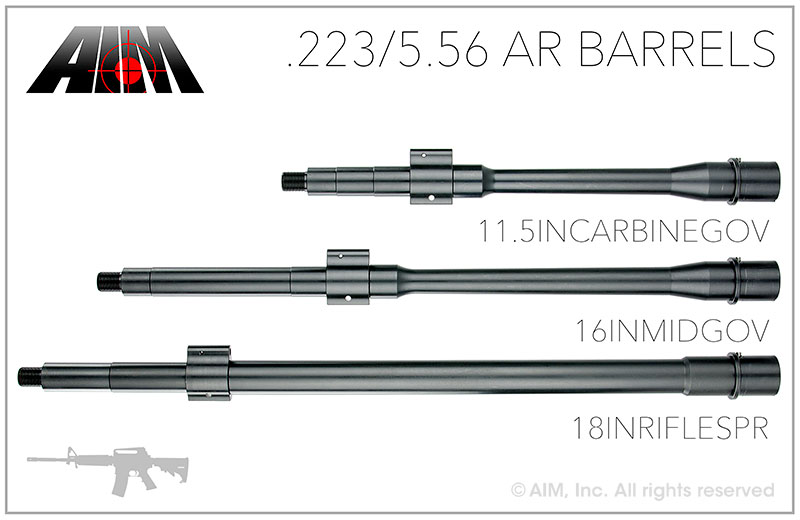 AIM .223/5.56 QPQ AR Barrels