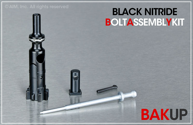 AIM Nitrided .223/5.56 BAK-UP (Bolt Assembly Kit) for AR type Rifles