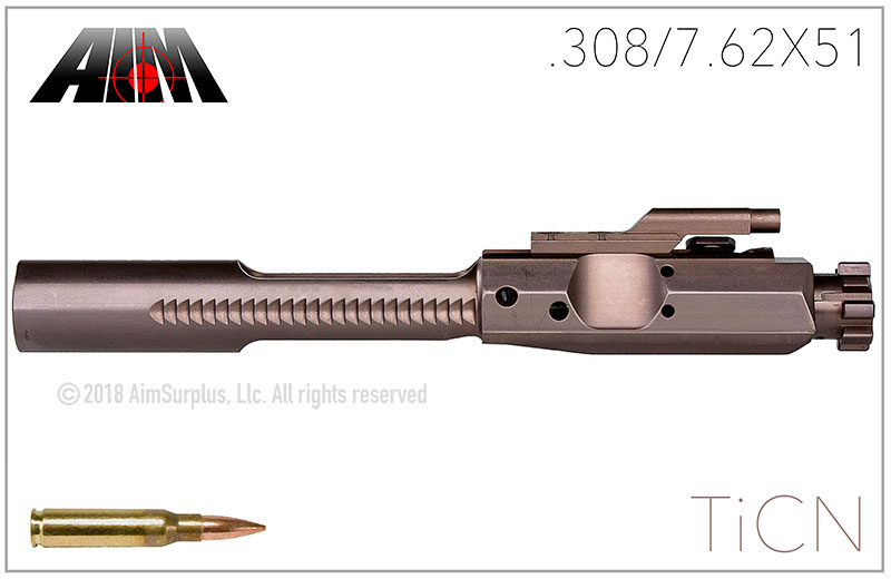 AIM .308/7.62X51 Titanium Carbo-Nitride BDG Bolt Carrier Group