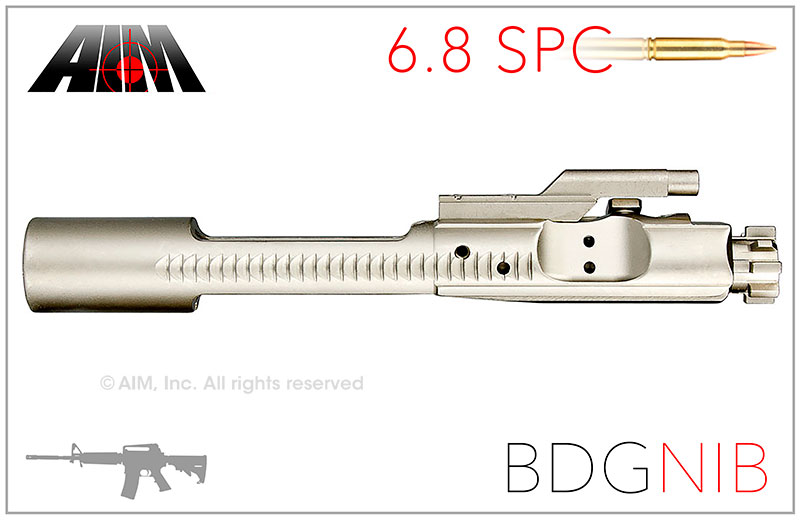 AIM AR/M16 6.8 SPC NIB 9310 MPI BDG Bolt Carrier Group