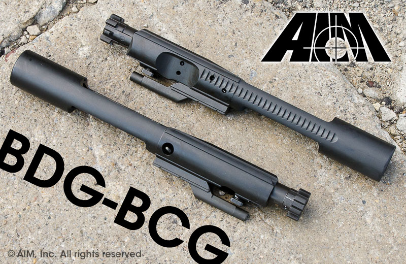 AIM AR/M16 .223/5.56/.300 BLACKOUT 9310 MPI BDG Bolt Carrier Group