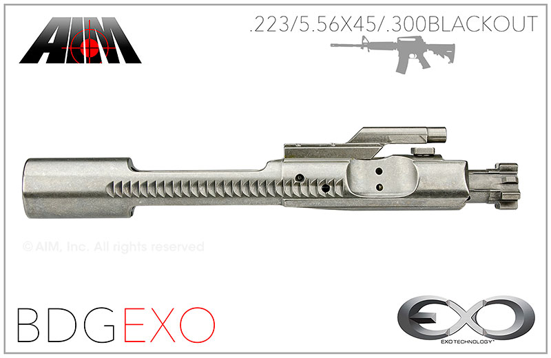 AIM AR/M16 .223/5.56/.300 BLACKOUT 9310 NIB EXO MPI Bolt Carrier Group