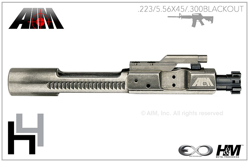 AIM AR/M16 H4 .223/5.56/.300 BLACKOUT 9310 MPI Bolt Carrier Group