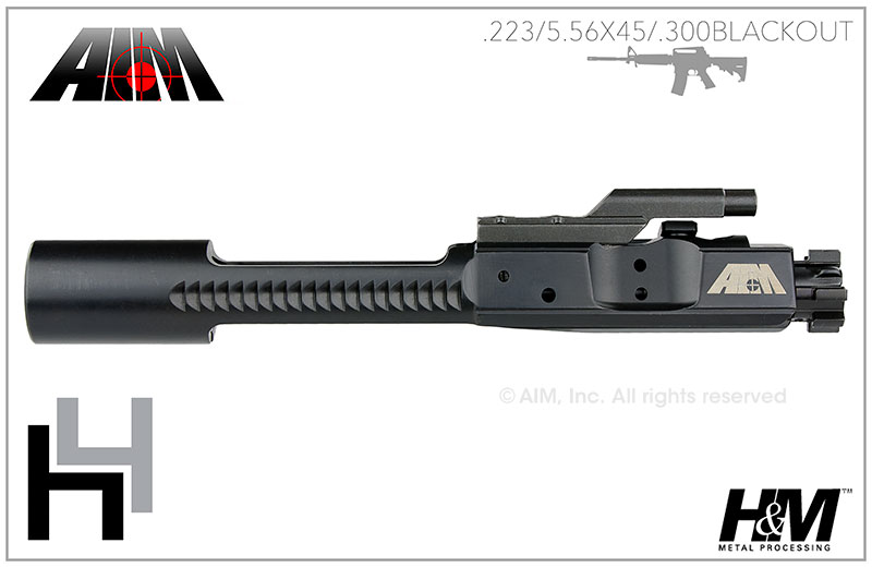 AIM AR/M16 H4 .223/5.56 Nitride 9310 MPI Bolt Carrier Group