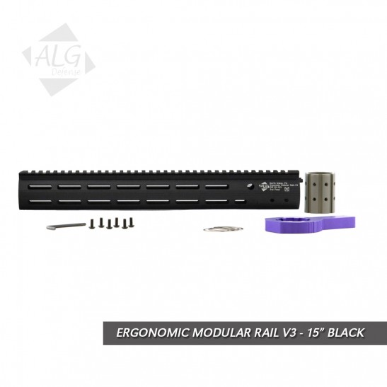 ALG Defense Ergonomic Modular Rail (EMR) V3 M-LOK