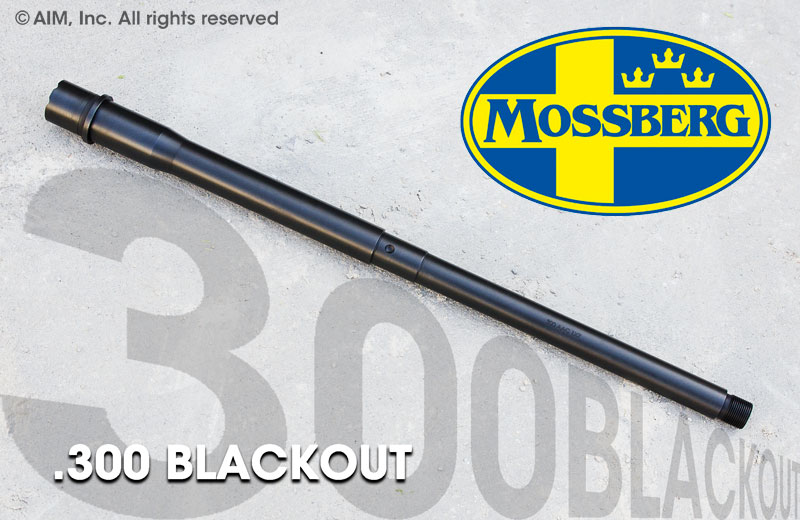 "Mossberg 16"" .300 BLACKOUT AR Barrel"