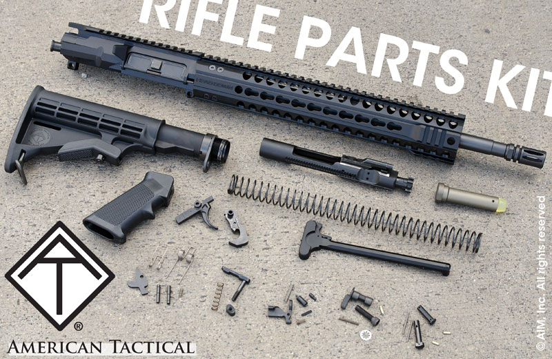 ATI Billet AR Upper 5.56/.223 Rifle Kit w/ Provectus Keymod Rail