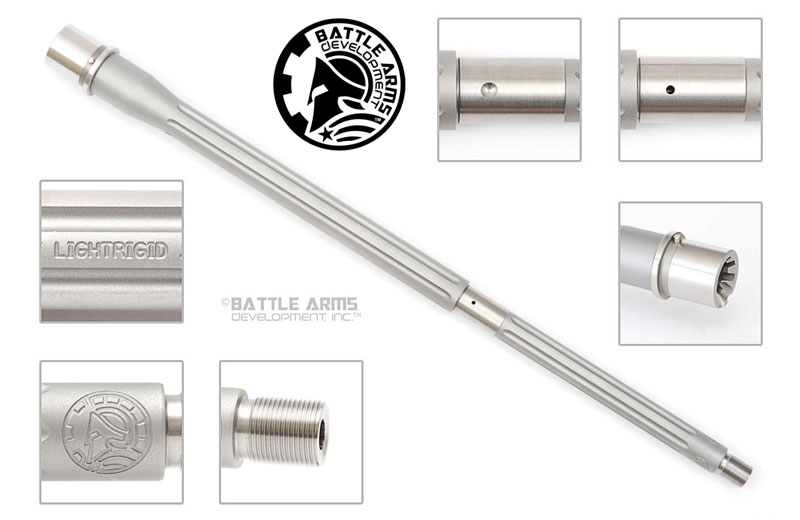 Battle Arms Development 16in. Ultramatch LIGHTRIGID SS .223 Wylde Barrel