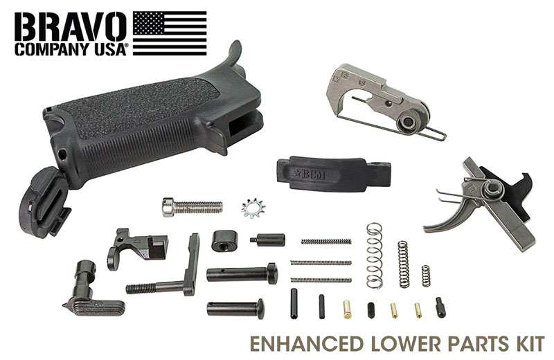 BRAVO COMPANY MANUFACTURING Enhanced Lower Parts K