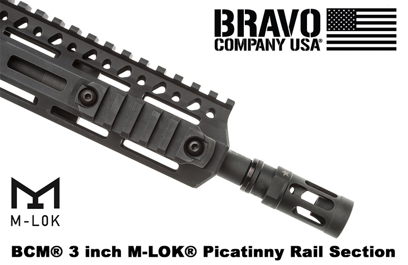 BCM M-LOK Picatinny Rail Sections