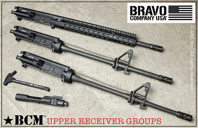 BCM UPPER RECEIVER GROUPS