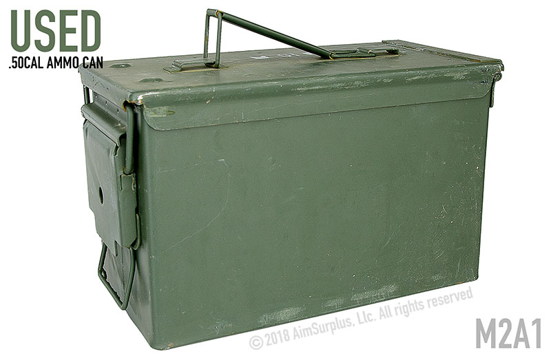 Used Military Surplus Ammo Cans
