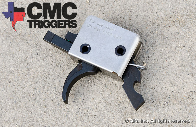 CMC Drop in Tactical AR15/10 Trigger Group - Curved