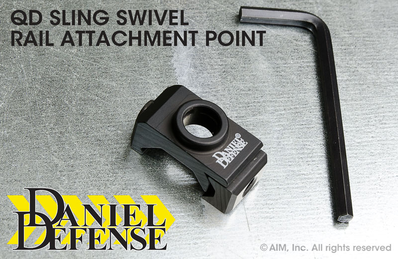 Daniel Defense Rail Mount QD Bracket