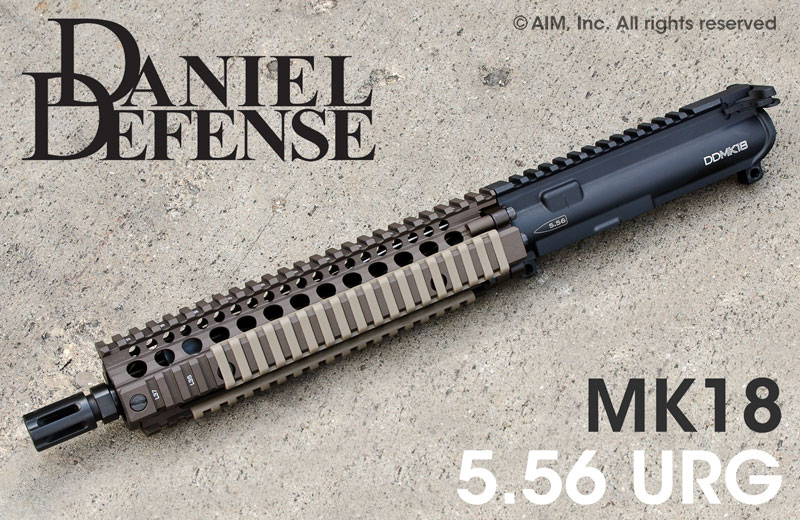 Daniel Defense MK18 .223/5.56 AR NFA/Pistol Upper Receiver TAN