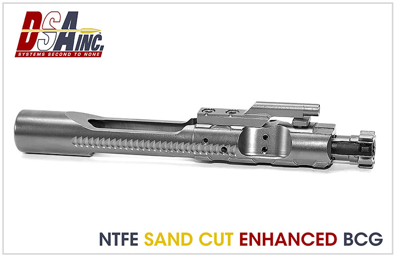 DS Arms NTFE Sand Cut AR/M16 Bolt Carrier Group