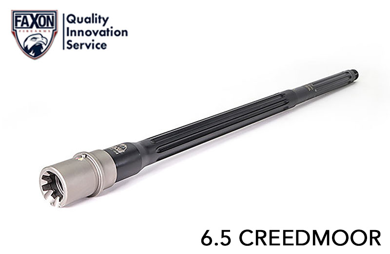 FAXON Firearms  6.5 Creedmoor Match Series Heavy Fluted 416R 20 in. Barrel