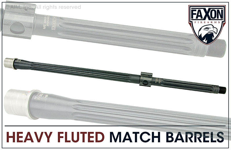 Faxon Firearms Match Series 20 IN. 6.5 Grendel Heavy Fluted Barrel