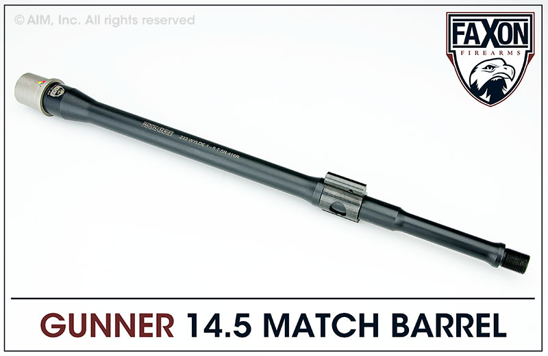 Faxon Firearms Match Series 14.5 IN. .223 Wylde Gunner Barrel