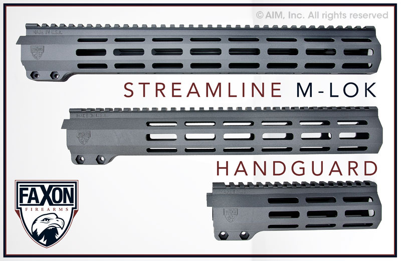 FAXON FIREARM STREAMLINE M-LOK HANDGUARD