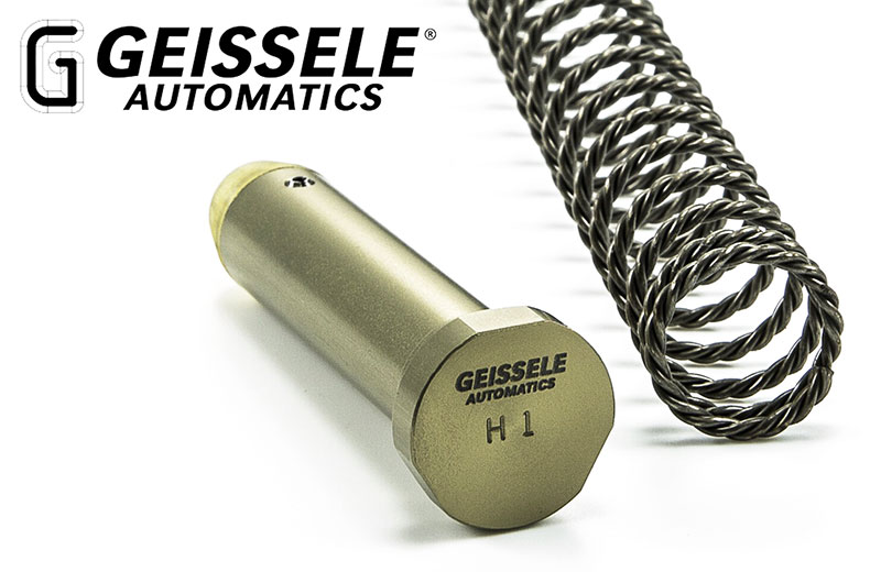 Geissele Automatics Super 42, Braided Wire Buffer Spring and Buffer
