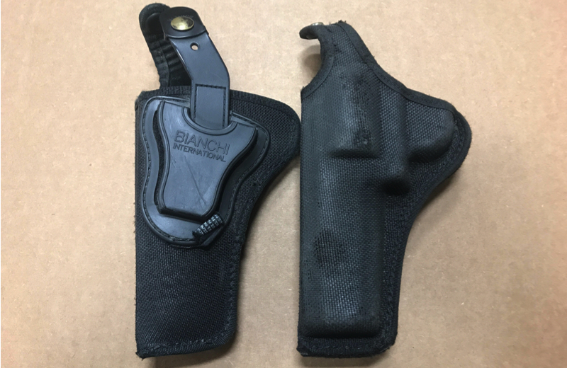 "Used Bianchi 4"" S&W Mod 65 Right Hand Holster"