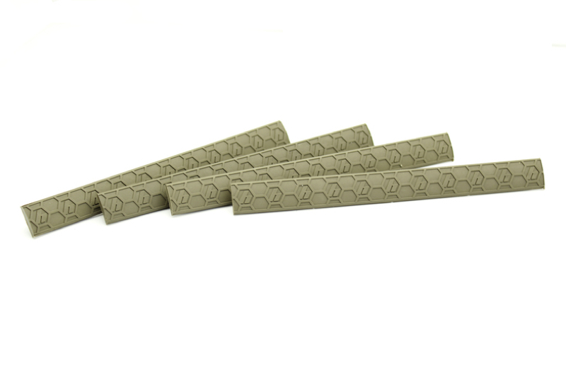Hexmag M-LOK WedgeLock Cover 4 pack - FDE