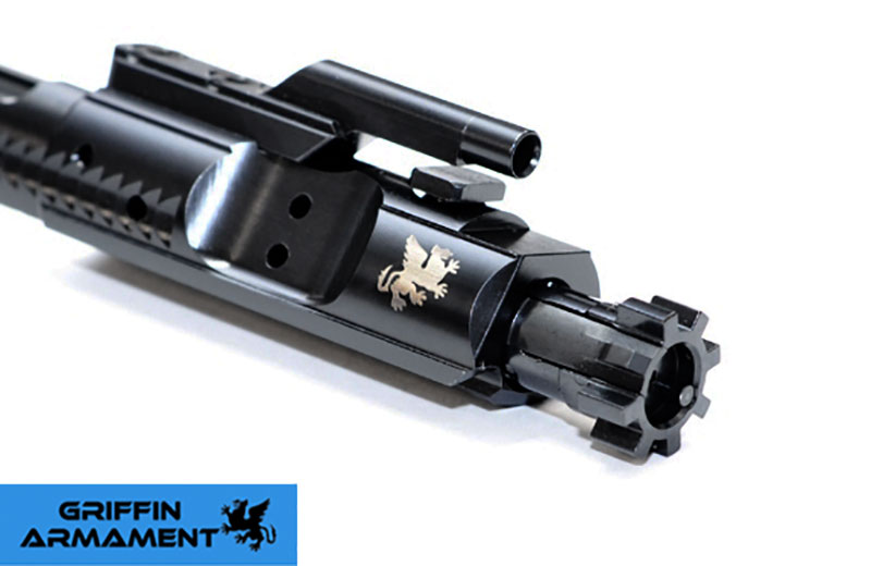 Griffin Armament Enhanced .223/5.56/.300 BLACKOUT Mil-Spec M16 Bolt Carrier Group
