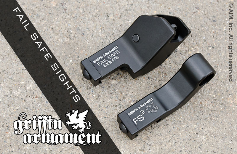 Griffin Armament Fail Safe Angled Sights