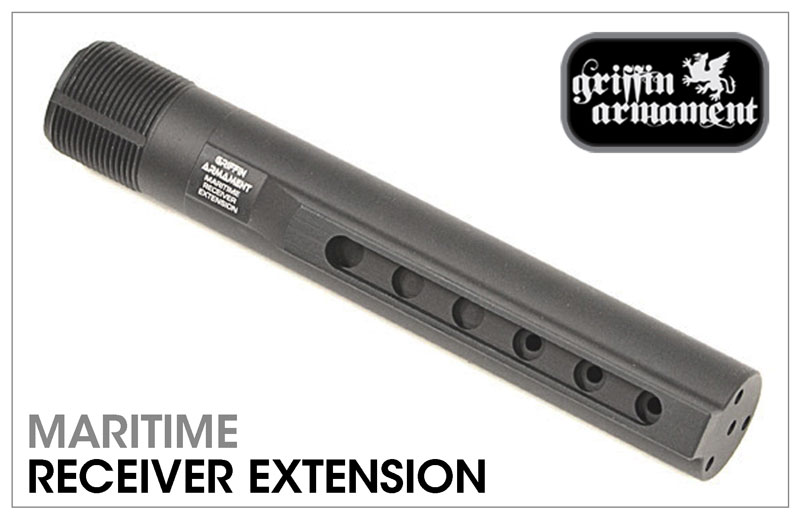 Griffin Armament Maritime Receiver Extension (Buffer tube)
