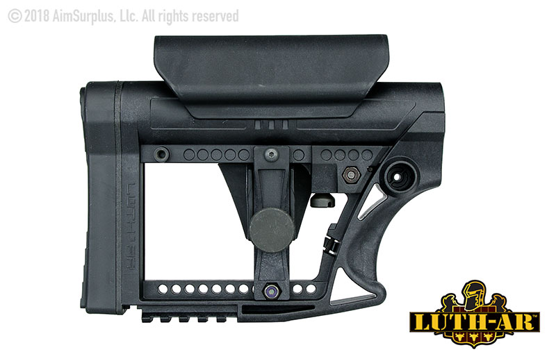 LUTH-AR MBA-4 Carbine Stock w/ Cheek Rest
