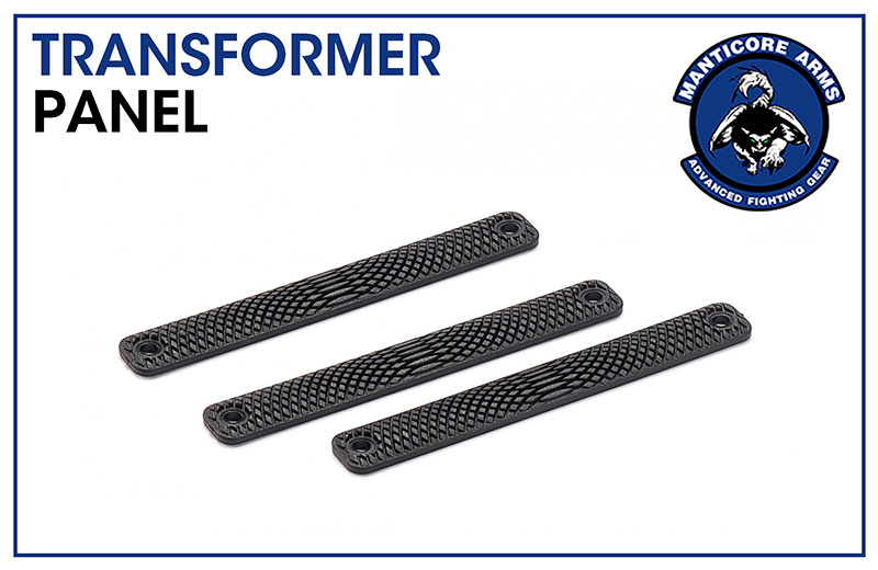 Manticore Arms Snakeskin Polymer Grip Panel for Transformer Rail