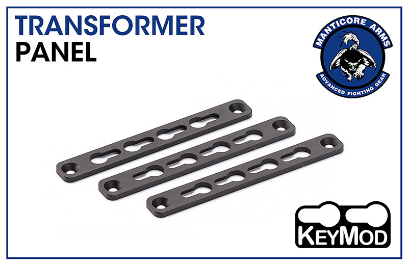 Manticore Arms Keymod Panel for Transformer Rail