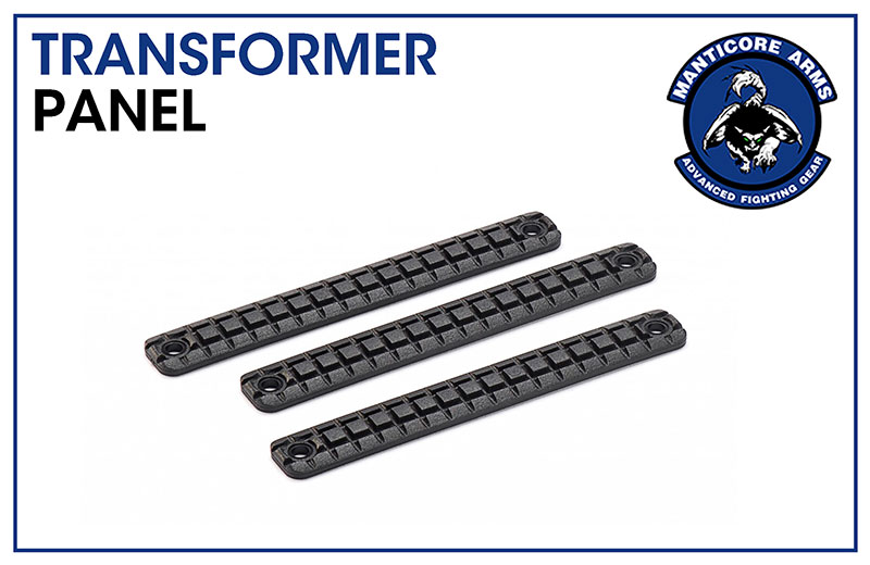 Manticore Arms Frag Polymer Grip Panel for Transformer Rail