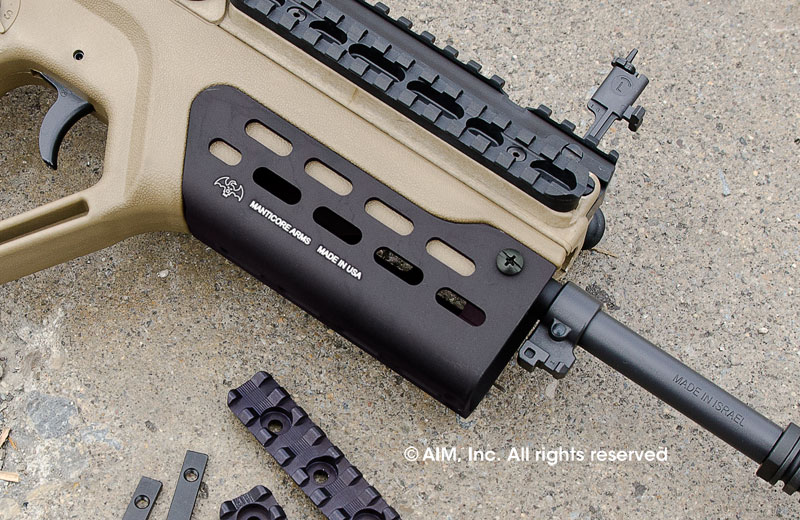 Manticore Arms ARClight Tavor Rail (Fully Loaded)