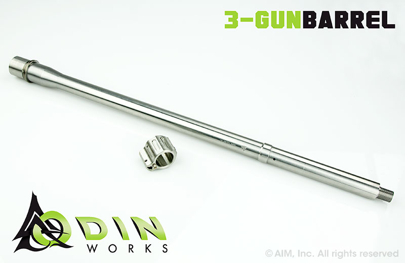 "ODIN Works 18"" 223 Wylde Stainless Steel 3 GUN Barrel"