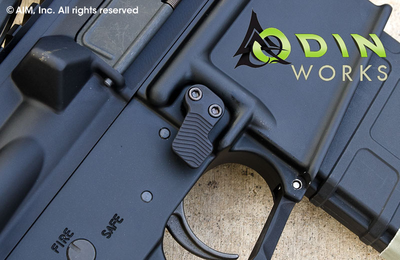 ODIN Works XMR Extended Mag Release Button Black
