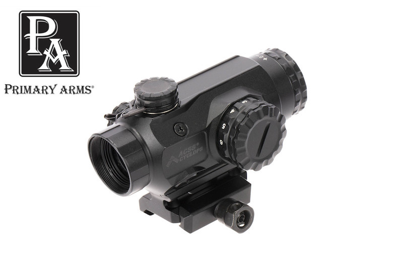 Primary Arms 1x Compact Prism Scope with ACSS Cyclops Reticle