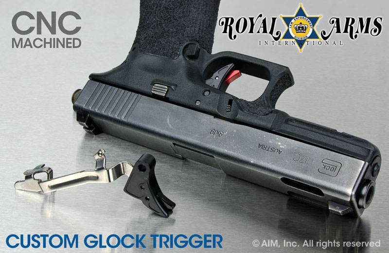 Royal Arms Custom Glock Trigger