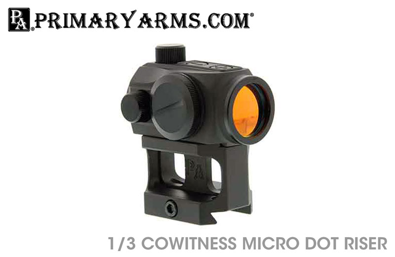 Radical Firearms Primary Arms Micro Dot Riser lower 1/3 Co-Witness