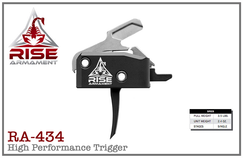 Rise Armament RA-434 High Performance Trigger - Straight