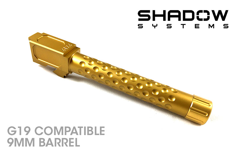 Shadow Systems G19 Compatible Threaded and Dimpled Match 9mm Barrel