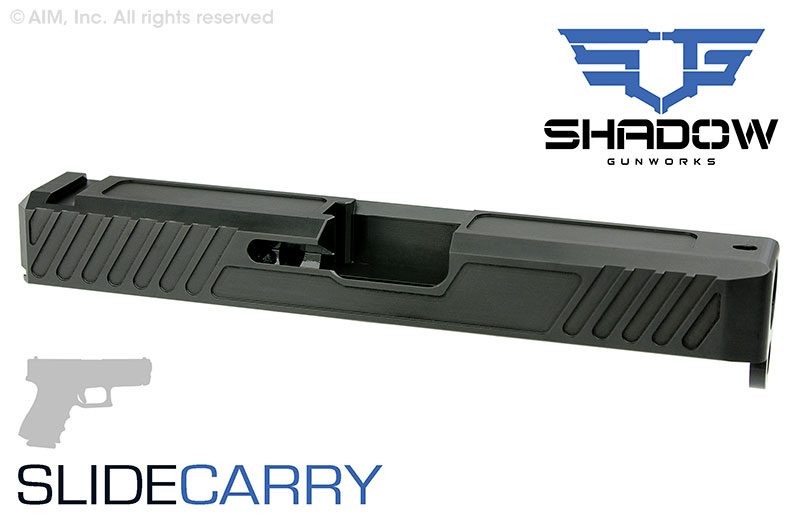 Shadow Systems ENHANCED CARRY Replacement GEN 3 compatible GLOCK 19 Slide